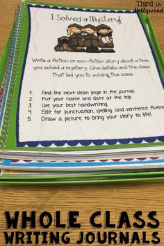 Kids would love these! Perfect to use during writing centers or Daily 5!