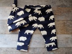 Organic Baby Boy Clothes, Navy Blue, Hat and pant set,  Beanie, Baby Leggings, Baby Set, Newborn Outfit, Baby Boy Clothes, Going Home Outfit by LittleLotusOrganics on Etsy https://www.etsy.com/listing/238911655/organic-baby-boy-clothes-navy-blue-hat