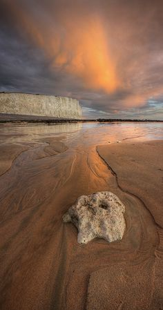 Birling Gap, Seven Sisters Chalk Cliffs, Sussex, England