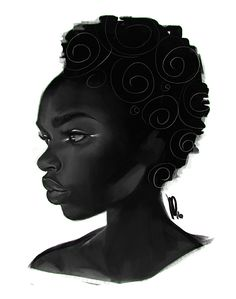 Art by Mel Milton . Character Drawing Illustration