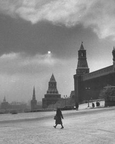 Moscow, Russia, December 1959.