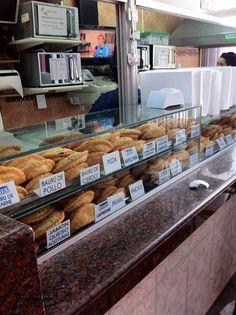Empanadas...you name the flavor...Old Montevideo, Uruguay by abaesel, via Flickr