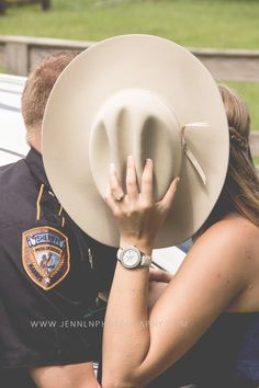engagement, couples, sheriff, police, law enforcement