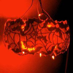 Spider Lace Pumpkin
