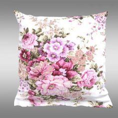 Povlak na polštář PROVENCE Ester růžová Provence, Tapestry, Throw Pillows, Bed, Home Decor, Hanging Tapestry, Tapestries, Toss Pillows, Decoration Home