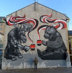 Canadian graffiti?