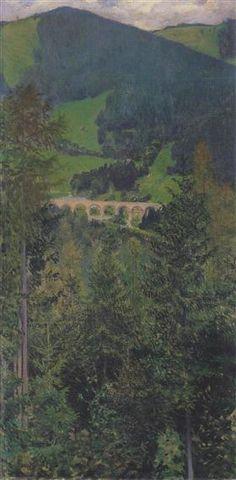 Landscape in Semmering - Koloman Moser