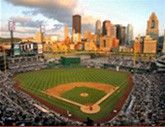 PNC Park in Pittsburgh - home of the Pittsburgh Pirates.  Let's go Bucs!
