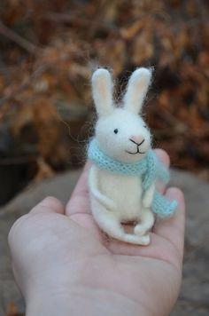 Little Bunny  by Felting Dreams  Ready to Ship by feltingdreams, $55.00