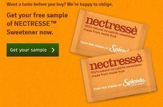 FREE Sample of Splenda Nectresse!
