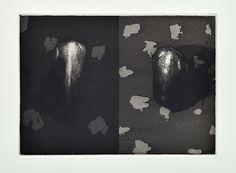"""François Vincent, """"Livre de chevet 1"""", Aquatinte et eau forte, 12.5 x 18 cm, 2013"""