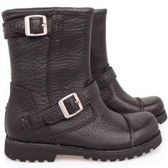 little girl Ugg black biker boots..every girl needs a great pair of biker boots..