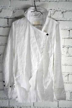 FleaingFrance.....loving this shirt.....The Collared Crossover Studio Shirt