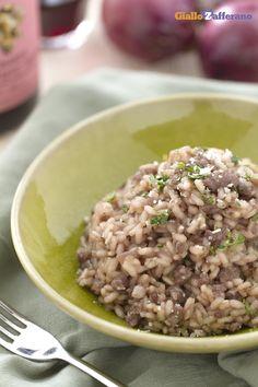 Il RISOTTO CON PASTA DI SALAME E BONARDA (risotto with salami paste and Bonarda…
