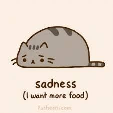 We're all sad when dere is no food pusheen we all are. How To Draw Pusheen, Pusheen Love, Pusheen Stuff, Penguin Drawing, Cat Drawing, Pusheen Stormy, Cat Character, Dibujos Cute, Kawaii Cat
