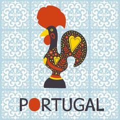 Illustration about Illustration of decorated Barcelos rooster symbol of Portugal. Illustration of gift, dotted, creative - 50562199 People Illustration, Plant Illustration, Illustrations, Portuguese Tattoo, Rooster Tattoo, Collages, Lucky Plant, Cruise Scrapbook, Cultural Crafts