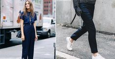Transitional High Street Wardrobe Heroes - the satin trouser