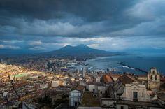 Vesuvius and the gulf of Naples