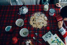 Desayuno de Año Nuevo. Receta galletas
