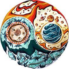 Yin Yang, Art, Art Background, Kunst, Gcse Art, Art Education Resources, Artworks