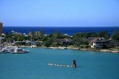 Overlooking Montego Bay.