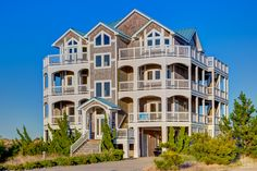 Sea Monkey 648   (7 Bedroom Oceanfront House)   Outer Banks Vacation Rentals   Salvo Vacation Rentals   #OBRrentals #OuterBeaches