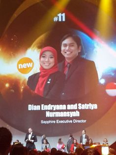 Selamat Kak Dian!  #11 Top Global 15  photo by kak Tresna  #OriflameDiamondConference2016