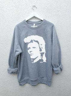 Twin Peaks: FBI Agents - David Lynch and David Bowie Unisex Sweatshirt sizes S-M-L-XL PQFMf