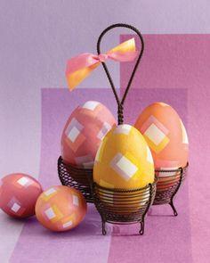 75 Coole Deko Ideen für Ostern 2014 - einige ostereier deko idee interessant