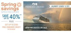 It's never too early to book a cruise for spring break and get these awesome deals!