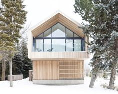 Modern house designs in snow countries are comfortable, inviting and beautiful when the right orienting of these houses for solar and wind directions allows to keep home interiors bright and warm in winter. House designs benefit from the nice building sites providing gorgeous views. Lushome collecti