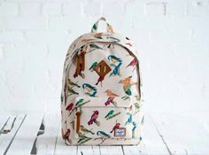 Herschel Woodlands Bird Print
