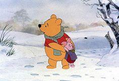 Winnie the Pooh and Piglet! Winnie The Pooh Classic, Cute Winnie The Pooh, Winnie The Pooh Friends, Whinnie The Pooh Drawings, Winne The Pooh Quotes, Eeyore Quotes, Disney Pixar, Disney Characters, Pooh Bear