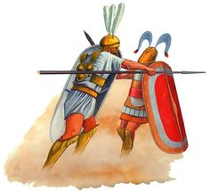 Roman Princeps and Samnite of the Linen Legion, 295 BC