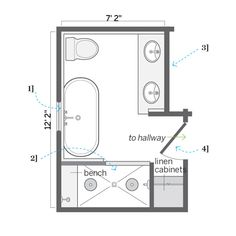 Compact Bathroom Layout 6x6 bathroom layout - google search | new house | pinterest