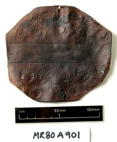 Bracer/Wrist Guard from the Mary Rose