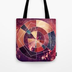 Geometric Rockstar Tote Bag by visualart Womens Tote Bags, Ted Baker, Style, Swag, Outfits