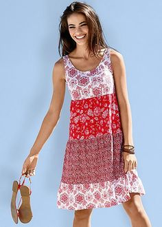 827a4d65439 Printed casual dress. Casual Summer DressesSun ...