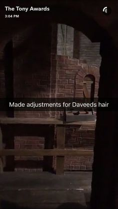 My favorite fun fact from set designer David Korins' Tony Awards Snapchat takeover