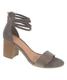 Smoke Rylan Leather Sandal