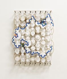 "Actively find time to check out the amazing shows at the Chelsea galleries and at the museums around NYC. No more of ""I can't believe I missed that!"" (Jacob Hashimoto at Mary Boone Gallery 2014)"