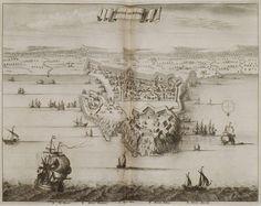 1688 Χάρτης της πόλης του Ρεθύμνου με το λιμάνι και τα περίχωρα. - DAPPER, Olfert - ME TO BΛΕΜΜΑ ΤΩΝ ΠΕΡΙΗΓΗΤΩΝ - Τόποι - Μνημεία - Άνθρωποι - Νοτιοανατολική Ευρώπη - Ανατολική Μεσόγειος - Ελλάδα - Μικρά Ασία - Νότιος Ιταλία, 15ος - 20ός αιώνας