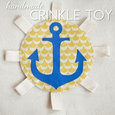 10 Baby Gifts You Can Sew! - Blissfully Domestic.  Cooper loves crinkle toys and this has a great tutorial.