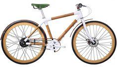 Bamboo bee, la primera bicicleta de bambú durable
