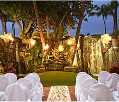 An unforgettable ceremony is waiting for you in the Aloha Pavillion at the Westin Maui Resort & Spa.