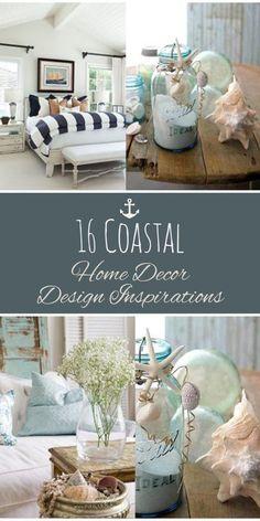 16 Coastal Home Decor Design Inspirations