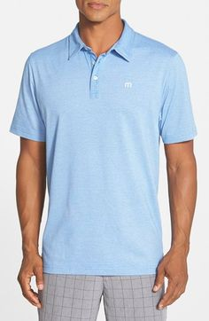 Travis Mathew 'Zinna' Cotton Jersey Golf Polo