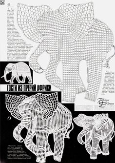 elefante häkeln crochet