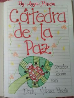Ideas para marcar tus cuadernos. Borders And Frames, Notebook, Bullet Journal, Notes, Stamp, Lettering, School, Ideas, Crafts