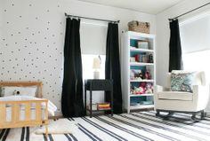 Understated 'Simple Chic' Kids' Rooms via Apartment Therapy Family